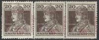 UNGARN - SZEGEDIN  -  KARLO  OVPT  3x ** MNH  - 1919 - Szeged