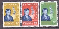 Ethiopia  425-7  **   ELEANOR  ROOSEVELT - Ethiopia