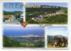 CPM - COL D'IBARDIN (64) Les Ventas - Vue Sur Saint-jean-de-luz (cheval) Frontière Franco-espagnole - France