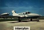 CESSNA 401  - Fenwick Aviation - SANTE, MEDECINE, PHARMACIE, INTERCYTON - CPM 13.5 X 20 - 1946-....: Ere Moderne
