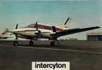 QUEEN AIR 88 - Beechcraft Transairco - SANTE, MEDECINE, PHARMACIE, INTERCYTON - CPM 13.5 X 20 - 1946-....: Era Moderna