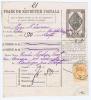 Romania: Parcel Post Form, Foaie De Expeditie Postala, 1901 - Pacchi Postali
