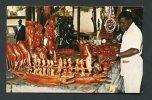 Afrique - Gambie - Vendeur D'art Traditionnel Africain - Gambie