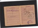 Guerre 1939 1945 Carte Alimentation Rationnement Textile Charbon LYON - Timbres Peu Courants - Historical Documents