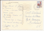 V448 - LES BAUX DE PROVENCE - BOUCHE DU RHONE - 1966 - - Marcophilie (Lettres)