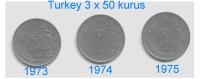 Turkije  Diverse Lots  Zie Scan  Lot   6    T / M   10 - Turquie