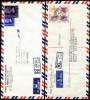 1957, 1981 Hong Kong. Two Registered Air Mail Letters, Covers Sent To Germany.  (H93c005) - Otros
