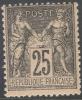 # France  100, Mint, Og,  Sound  (fr100-4,  Michel 78.  [16-GT - 1876-1898 Sage (Type II)