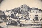 63. LA BOURBOULE. La Roche Des Fées Et Chalet Choussy. Gravure 10 X 7 Du XIXe - Unclassified