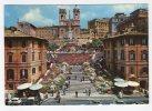 ROMA - Piazza Di Spagna. Trinità Dei Monti. Viaggiata 1970 - Roma