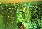 Brésil-BRASIL -Vista Noturna HILTON Hotel - Night View ( Année : 1986 ) *PRIX FIXE - Brazil