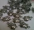 Charm Coccinella  Argento Tibetano - Hobby Bigiotteria- - Perle