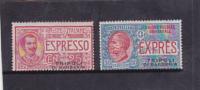 Italy Tripoli Di Barberia 1909 Special Delivery Stamps MH - Tripolitania