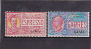 Libya 1921 Special Delivery Stamps MH - Libya
