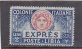 Libya 1923 Special Delivery Stamp L2.00 MNH - Libya