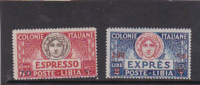 Libya 1926 Special Delivery Stamps MH - Libya