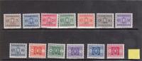 Libya 1934 Postage Due MLH - Libya
