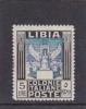 Libya 1940 Libyan Sibyl No Wtmk Perf 14  MNH - Libya
