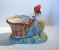 Coq Et Son Panier - Haan Met Mand - Rooster With Basket - DI161 - Céramiques