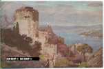 """Um 1910/1920 Ansichtskarte, FELDPOST """" Kastell Rumeil Hissar Am Bosporus"""" Mit Stempel - Monumentos"""