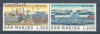 San Marino 1975 Mi Par 1097-1098b MNH - Cities - Nuovi