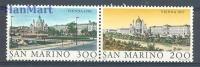 San Marino 1980 Mi Par 1227-1228d MNH - Cities - Nuovi