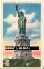 """Um 1930/1950 Ansichtskarte """" Statue Of Liberty """", Ungebrauchte Karte - Monuments"""