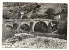 Conques (12) : Pont Romain En 1950 (animée) PHOTOGRAPHIE VERITABLE. - Non Classés