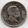 TANZANIA 50 SENTI HAMSINI 1989 - Tanzanie