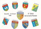 ¤¤ Ecussons Ou Blasons - Trouville, Deauville, Touques, Villers-sur-Mer, St-Arnoult,Blonville-sur-Mer,Tourgeville ... - Frankreich
