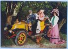 RENAULT 1908.- France Old Car ( Vintage Postcard Travelled In A Letter 1966. ) Automobile Oldtimer Auto Autos Oldtimers - Voitures De Tourisme