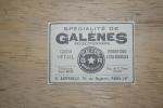 Mini PUB 1926 TSF Galènes RAPPENEAU PARIS 14è Rue Daguerre - Publicités