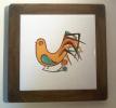 Casteli - Tegel Haan - Carreau Coq - Tile Rooster - DI 166 - Ceramics & Pottery