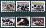 NEW ZEALAND Mi.Nr. 2103-2108 Sport Rugby - MNH - Rugby