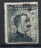 Ital. Tripolitania, 1909 Freimarke 15 Cent., MiNr. 5, Gestempelt (a060504) - Tripolitania