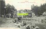 Cpa 11 Narbonne, Pont Des Marchands, Lavandières Au 1er Plan, éd Prunot 509 - Narbonne