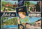 $3-1714- Saluti Da Susa - Torino - F.g. - Viaggiata - Italia