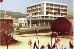 Sa Da Bandeira Lubango Angola, Texaco Gas Station Street Scene C1960s/70s Vintage Postcard - Angola