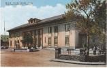 Hsingching (Changchun) China, Memorial Building, Japanese Occupation Manchukuo, On C1930s Vintage Postcard - Cina