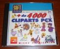 Plus De 4000 Cliparts Micro Application Soft Collection Encyclopédie Sur Cd-Rom 1995 - Informatica