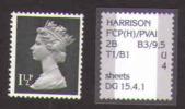 Machin 1,5p  UPRIGHT PRINT !!! - 1952-.... (Elizabeth II)