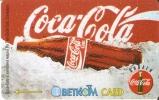TARJETA DE BULGARIA DE LA COMPAÑIA COCA-COLA  BOTELLA   (COKE) - Publicidad