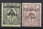 Wallis N° 1et 2 Neuf * - Wallis-Et-Futuna