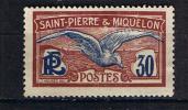 SAINT PIERRE ET MIQUELON 1922 28 GOELAND 112 MLH - St.Pierre & Miquelon