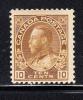 Canada MH Scott #118 10c George V Admiral Issue - Neufs