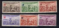REUNION 1943 300 ANS RATTACHEMENT A LA FRANCE PA 18 A 23 MNH ** - Réunion (1852-1975)