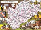 R8033 Cpm 16 Dépt Charente - France