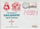 GB 1974 - The Launch Of HMS Coventry, Type 42 Destroyer - Bateaux