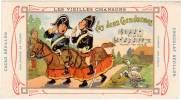 Chromo Chocolat / Cacao Revillon : Les Vieilles Chansons : Les Deux Gendarmes - Revillon