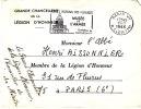 LSI 1000D  Légion D'honnneur Avec Griffe Paris,VIII Rue De Fleurus Paris  6éme - 1961-....